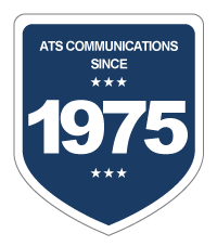 ATS Communications Since 1975 Badge